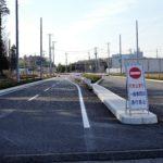2019年3月19日(火)11時 都市軸道路が一部開通