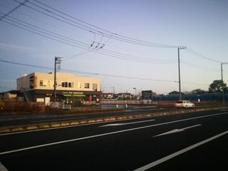 生活クラブデポーの隣に新店舗の予定