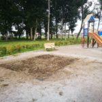 十太夫近隣公園で砂場運用開始