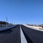西平井と南流山を結ぶ橋まもなく 都市計画道路3・3・2号新川南流山線
