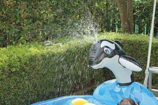 庭でプールのやり方